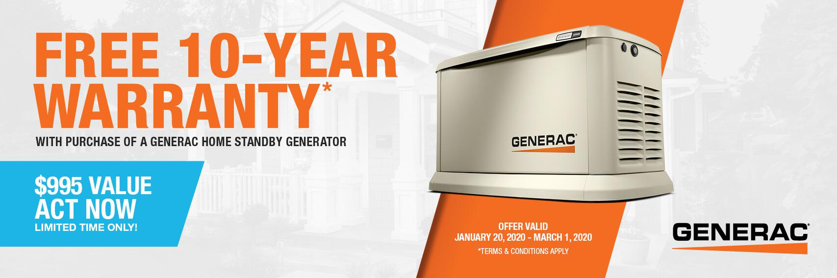 Homestandby Generator Deal | Warranty Offer | Generac Dealer | Westhampton Beach, NY